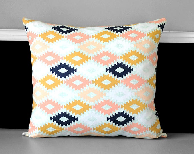 Diamond Print Pillow Cover