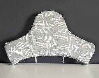 IKEA Baby Highchair Cushion Cover for Klammig, Pyttig, Palm Leaves Gray