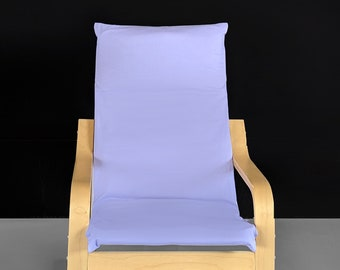 Solid Lavender IKEA KIDS POÄNG Cushion Slipcover