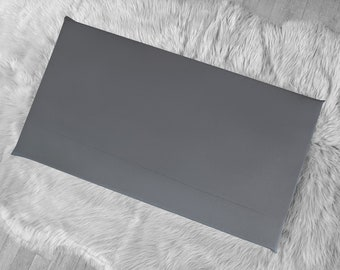 Sunbrella Dark Gray IKEA HEMMAHOS Bench Pad Slip Cover, Outdoor