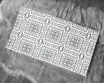 Spanish Tile Pattern, IKEA STUVA Bench Pad Slip Cover, Santiago