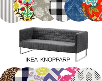 Slipcovers for IKEA KNOPPARP Sofa, Multiple Prints
