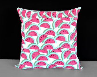 Watermelon Fruit Pillow Cover