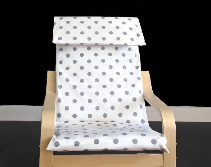 Polka Dot IKEA KIDS POÄNG Cushion Cover