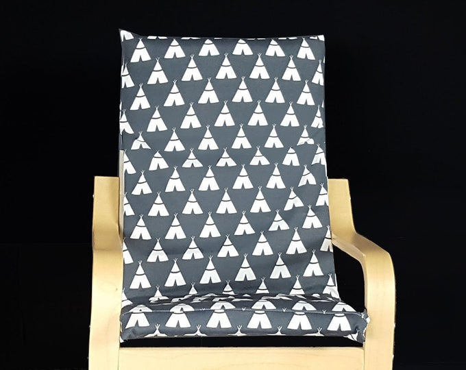 Kids Teepee Ikea Poang Chair Cover, Children's Poang Cover