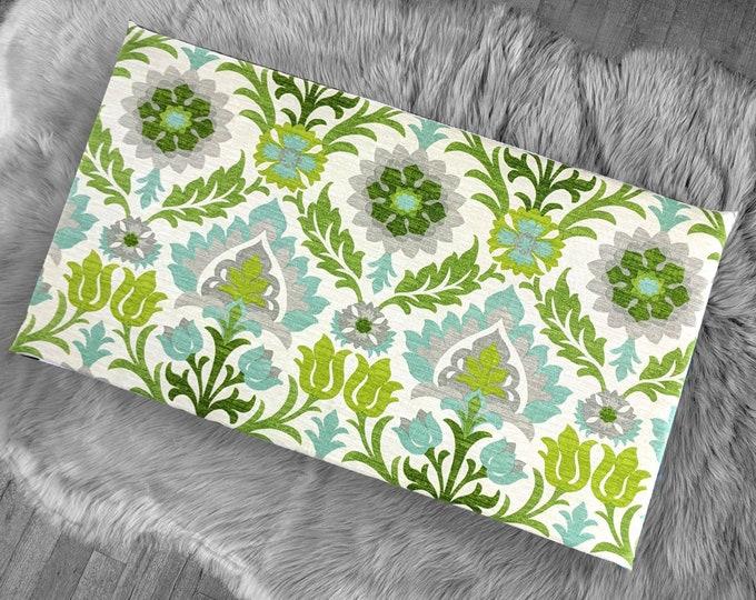 Vissla Bench Pad Cover, Floral Damask IKEA Santa Maria Mint Julep