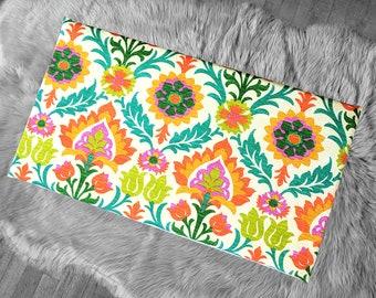 Vissla Bench Pad Cover, Orange Damask IKEA Santa Maria Mimosa