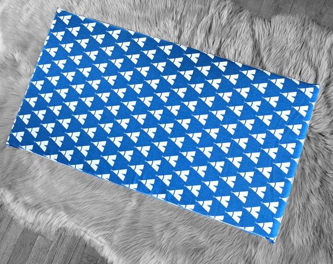 Tee Pee Blue Cobalt IKEA STUVA Bench Pad Slip Cover, Wig Wam