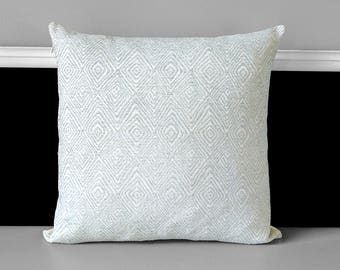 Light Blue Velvet Pillow Cover