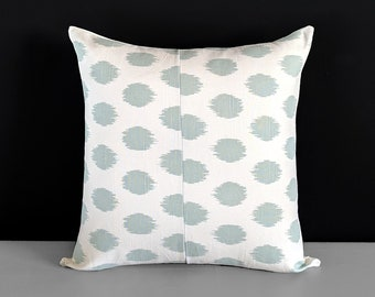 Pastel Blue Dots Pillow Cover