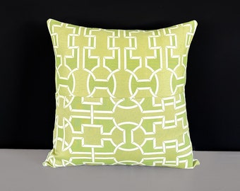 70's Green Retro Cushion Cover