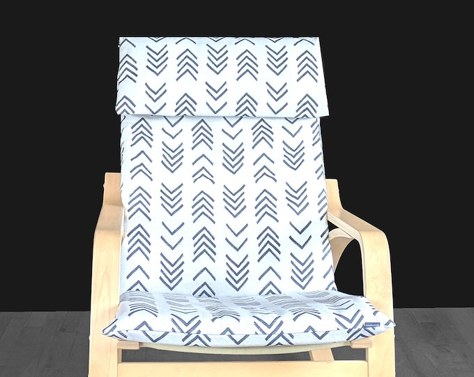 African Mudcloth 2018 IKEA POÄNG Cushion Seat Cover