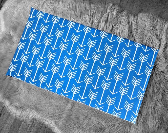 Blue Cobalt Arrows IKEA STUVA Bench Pad Slip Cover