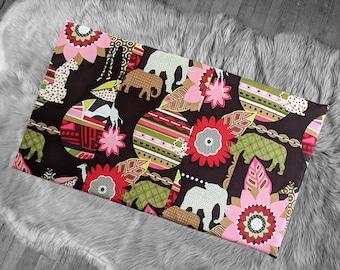 African Animals IKEA STUVA Bench Pad Slip Cover