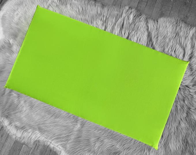 Solid Green IKEA HEMMAHOS Bench Pad Slip Cover