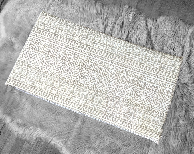 Mexican Pattern, Beige IKEA STUVA Bench Pad Slip Cover