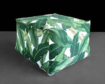 Tropical Green Jungle Custom IKEA Jordbro Bean Bag Covers