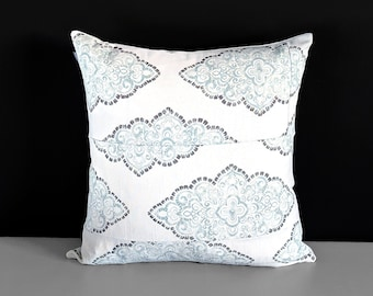 Patchwork Shabby Chic White Pillow Cover