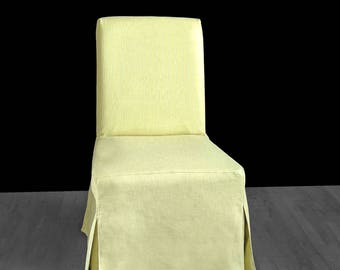 Solid Light Green IKEA HENRIKSDAL Dining Chair Cover, Custom Henriksdal Covers