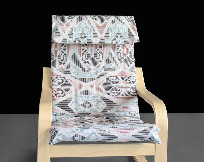Aztec IKEA KIDS Ikat POÄNG Cushion Slipcover