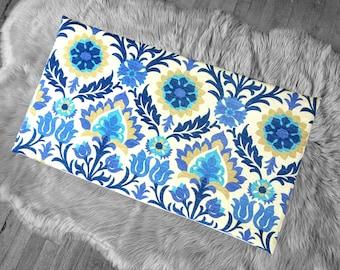 Vissla Bench Pad Cover, Blue Damask IKEA Santa Maria Azure