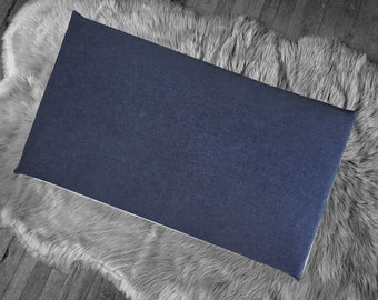 Dark Denim IKEA Window Seat Cushion Cover