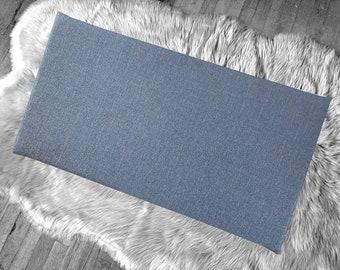 Blue Denim IKEA Window Seat Cushion Cover