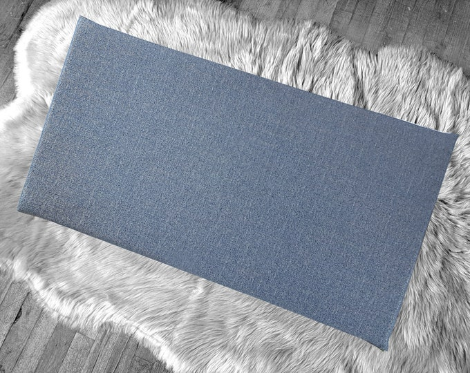 Blue Denim IKEA Window Seat Cushion Cover