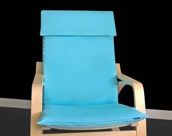 Light Blue IKEA POÄNG Chair Cover, Ready to Ship