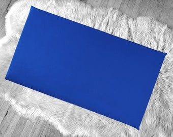 Solid Royal Blue IKEA HEMMAHOS Bench Pad Slip Cover