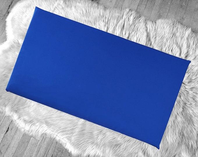Solid Royal Blue IKEA HEMMAHOS Bench Pad Slip Cover