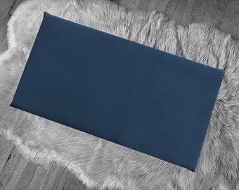 SALE Solid Navy Blue IKEA HEMMAHOS Bench Pad Slip Cover
