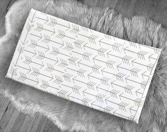 Beige Arrows IKEA STUVA Bench Pad Slip Cover