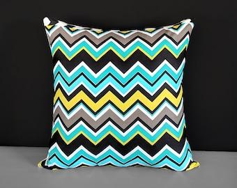 "18"" Colorful Zig Zag Chevron Pillow Covers"