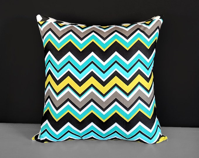 "18"" Colorful Zig Zag Chevron Pillow Covers"