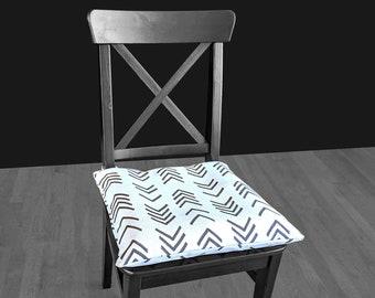African Mud Cloth Print IKEA MALINDA Chair Pad Cover