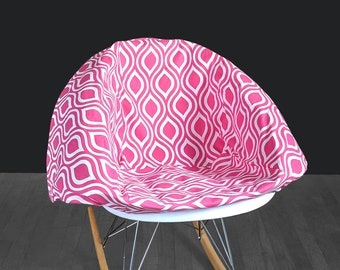 Bold Funky Pink EAMES Rocking Chair Pad