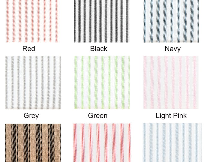 Ticking Stripe Ikea Covers, Custom Ikea Chair Covers