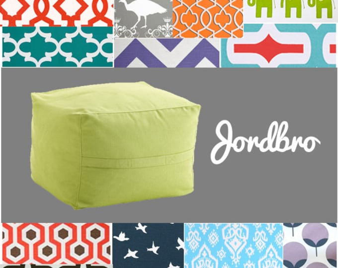 Customized Ikea Jordbro Covers, Jordbro Beanbag Slipcover
