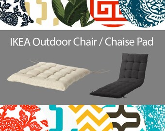 IKEA OUTDOOR Chair Pad Covers, Hallo Kungso KUDDARNA Froson Slip Covers for Deck, Folding Chairs, Lounges