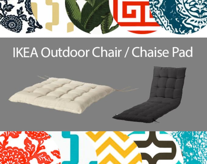 Hallo Kungso Chair Pad Cover, IKEA Froson OUTDOOR Slip Cover, Hallo Kungso Outdoor Covers, Ikea Chaise Pad Cover