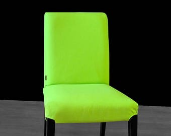 Solid Green IKEA HENRIKSDAL Dining Chair Cover, Custom Henriksdal Covers