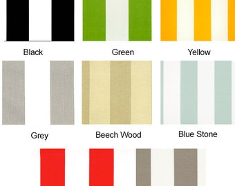 IKEA Furniture Covers, Outdoor Cabana Stripe Cushion Slip Cover - *Fits Ikea ONLY*