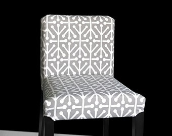 Gray IKEA HENRIKSDAL Bar Stool Chair Cover