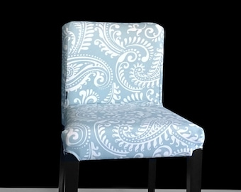 Pastel Blue Antique Style IKEA HENRIKSDAL Stool Seat Cover