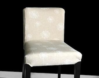 Dandelion Ikea Henriksdal Stool Cover, Flower Print Henriksdal Seat Cover