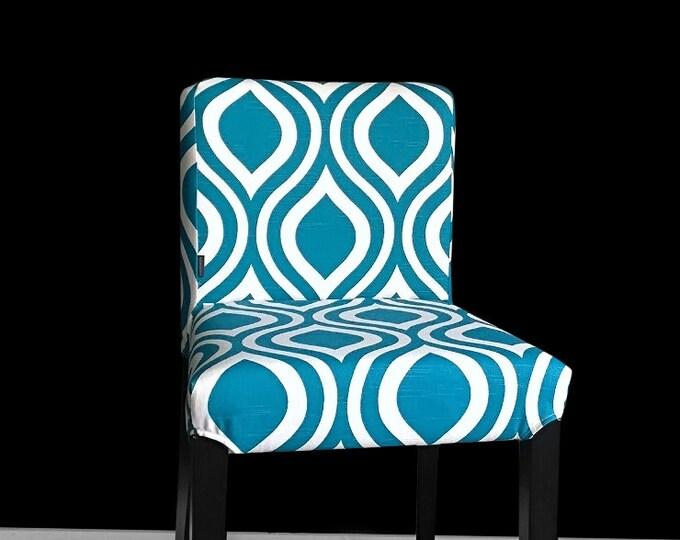 Blue Teardrop IKEA HENRIKSDAL Seat Cover