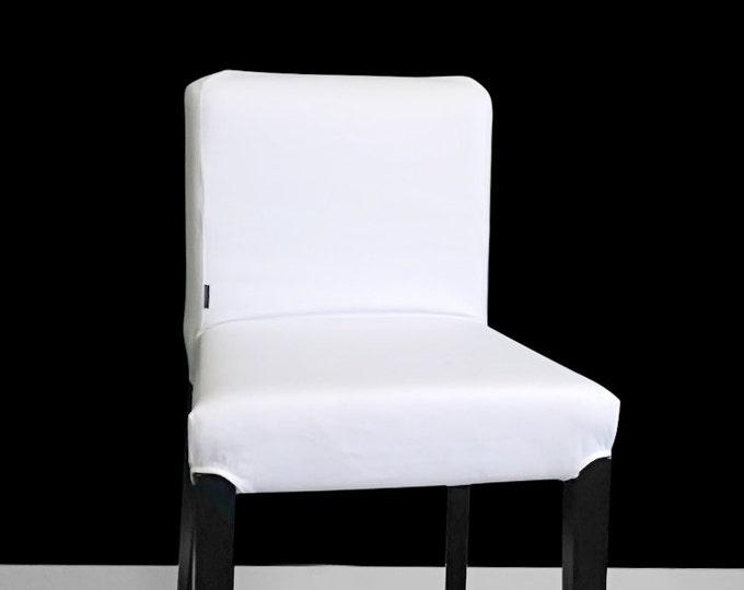 SUNBRELLA White IKEA HENRIKSDAL Bar Stool Chair Covers
