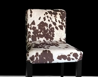 IKEA HENRIKSDAL Bar Stool Chair Cover, Cow Print Ikea Slip Cover, Custom Ikea Accessories, Custom Stool Cover, Udder Madness