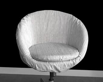 IKEA SKRUVSTA Chair Cover, Scribble Grey